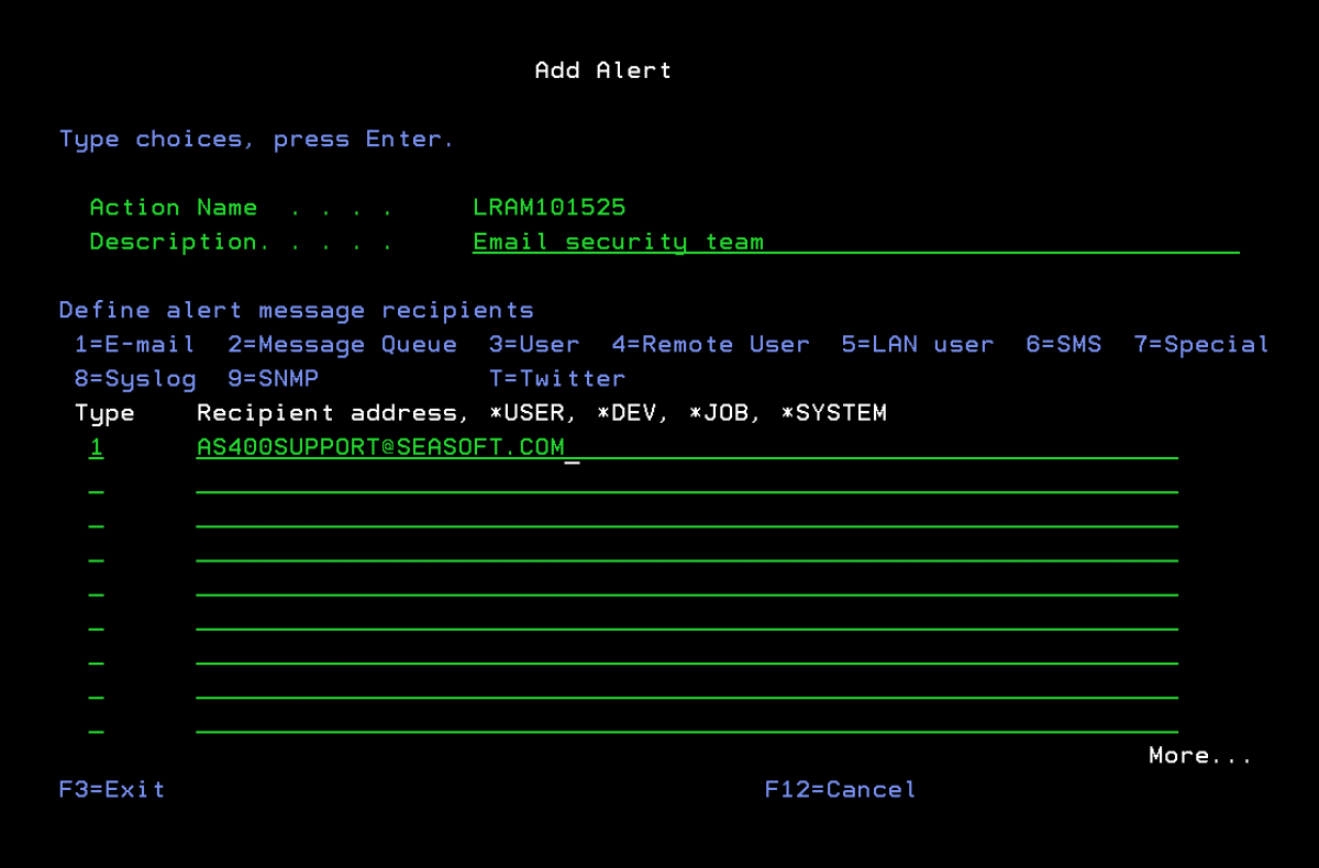 Secure your IBM i (iSeries/AS400) on a Command Level
