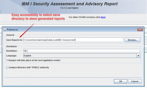 iSecurity Assessment checks the security of your IBM i/AS400 system with ease