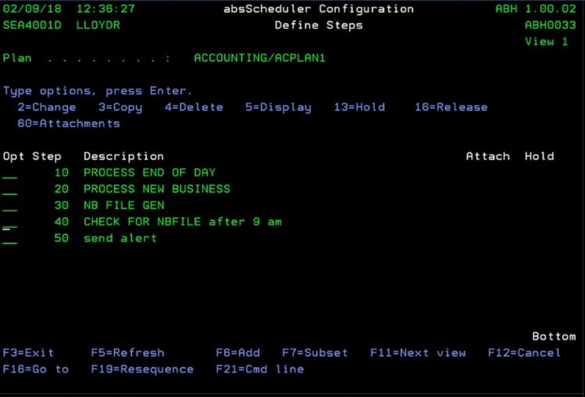 IBM i/AS400 Job Scheduling and Automation with absScheduler