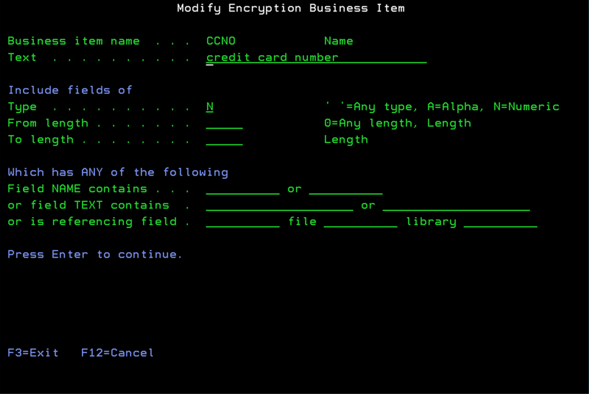 Field Level Encryption for IBM i/AS400/iSeries | Encryption
